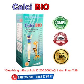 Calci BIO - Hỗ trợ phát triển chiều cao, giúp xương răng chắc khỏe và giảm còi xương ở trẻ nhỏ, giúp giảm nguy cơ loãng xương ở người lớn tuổi. thumbnail