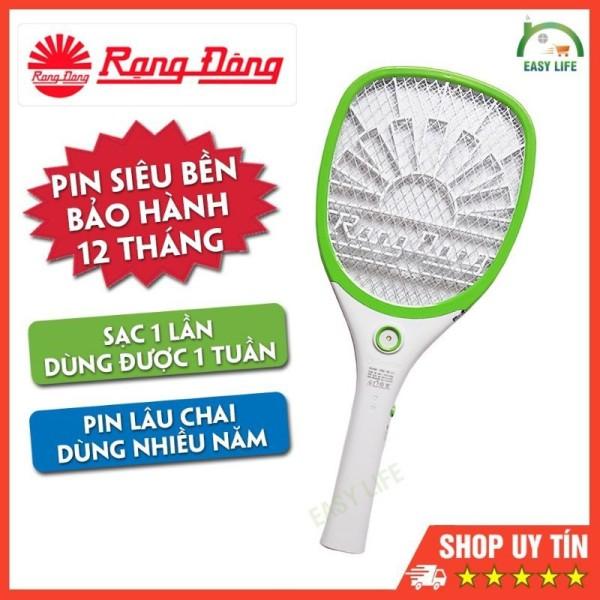 Vợt bắt muỗi cao cấp RẠNG ĐÔNG, hàng chính hãng Việt Nam chất lượng cao CHỈ CẦN SẠC 1 LẦN DÙNG 1 TUẦN - pin ion tai chế cực bền - thiết kế mới nhất 2021
