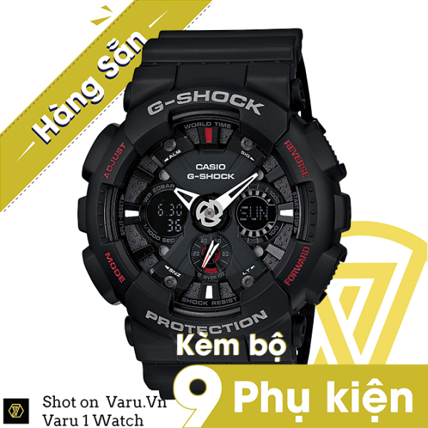 [Cao Cấp] Đồng hồ thể  thao na nữ G-Shock GA-120-1A Full phụ kiện bán chạy
