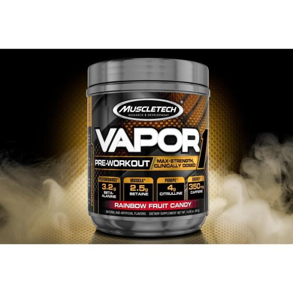 Muscletech Vapor 1 -Preworkout - Tăng Năng Lượng, Tăng Cơ Bắp Cực Mạnh 20 lần dùng - Chính Hãng cao cấp