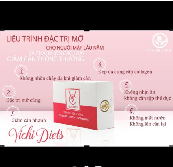 giảm cân vichi diets Thái Lan cao cấp