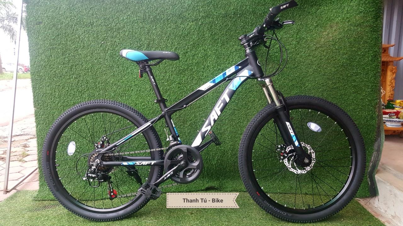 Mua xe đạp saft YF360 KHUNG NHÔM BÁNH 24 +26 INCH