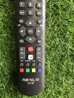 Điều khiển tivi TCL Smart internet RC200 vào mạng internet - tặng kèm pin ,Remote điều khiển tivi TCL Smart RC200 smart internet 6