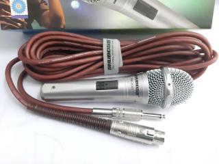 [ GIAM GIÁ SỐC 50% ] Micro Karaoke Đa Năng Chất Lượng- Mic Karaoke Shuboss SM 3000 Có Dây Cao Cấp- Micro Không Dây Hát Karaoke- Âm Thanh Đỉnh Cao Chuyên Nghiệp- Được Trang Bị Bộ Lọc Âm Tốt- Chống Hú Hiệu Quả- Vỏ Hợp Kim Nhôm Bền Bỉ thumbnail