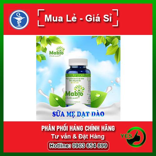 Combo 2 hộp Mabio - Giúp nâng cao số lượng và chất lượng sữa mẹ cao cấp