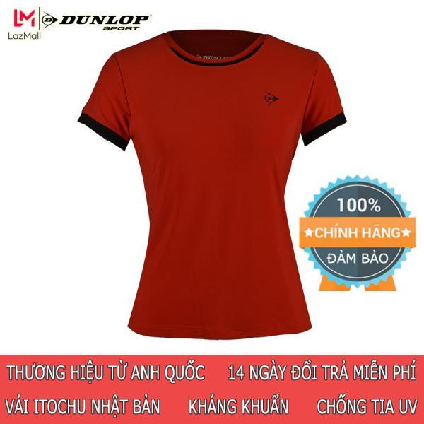 DUNLOP - Áo Tennis nữ Dunlop - DATES9095-2 Hàng chính hãng Thương hiệu từ Anh Quốc Đổi trả miễn phí