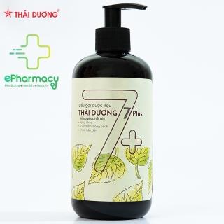 Dầu Gội Thái Dương 7 PLUS - Sao Thái Dương dược liệu giảm gàu, phục hồi tóc, giảm hói 480ml thumbnail