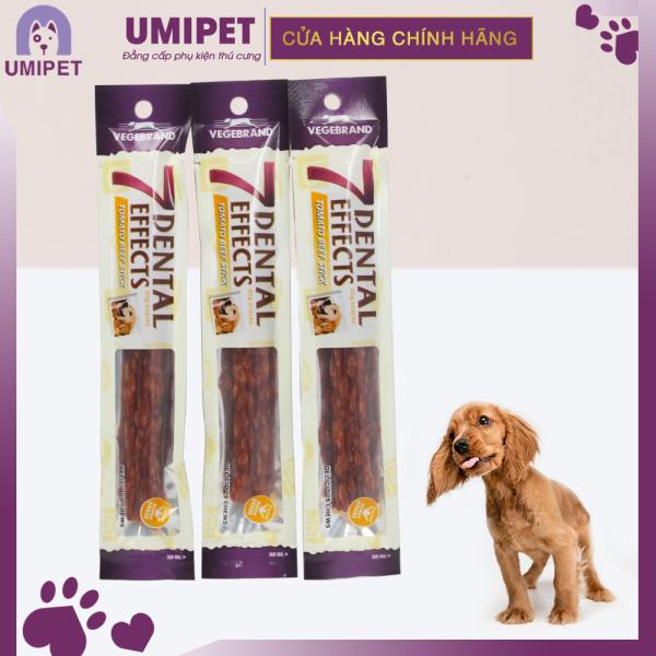 Xương Gặm Sạch Răng 7 Dental Effects 10gr cho Chó UMIPET