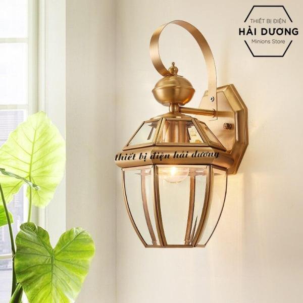 Đèn Gắn Tường Cao Cấp Đồng Nguyên Chất Cổ Điển Trang Trí 0600S - Đã bao gồm bóng. Cam kết giá tốt trên thị trường.