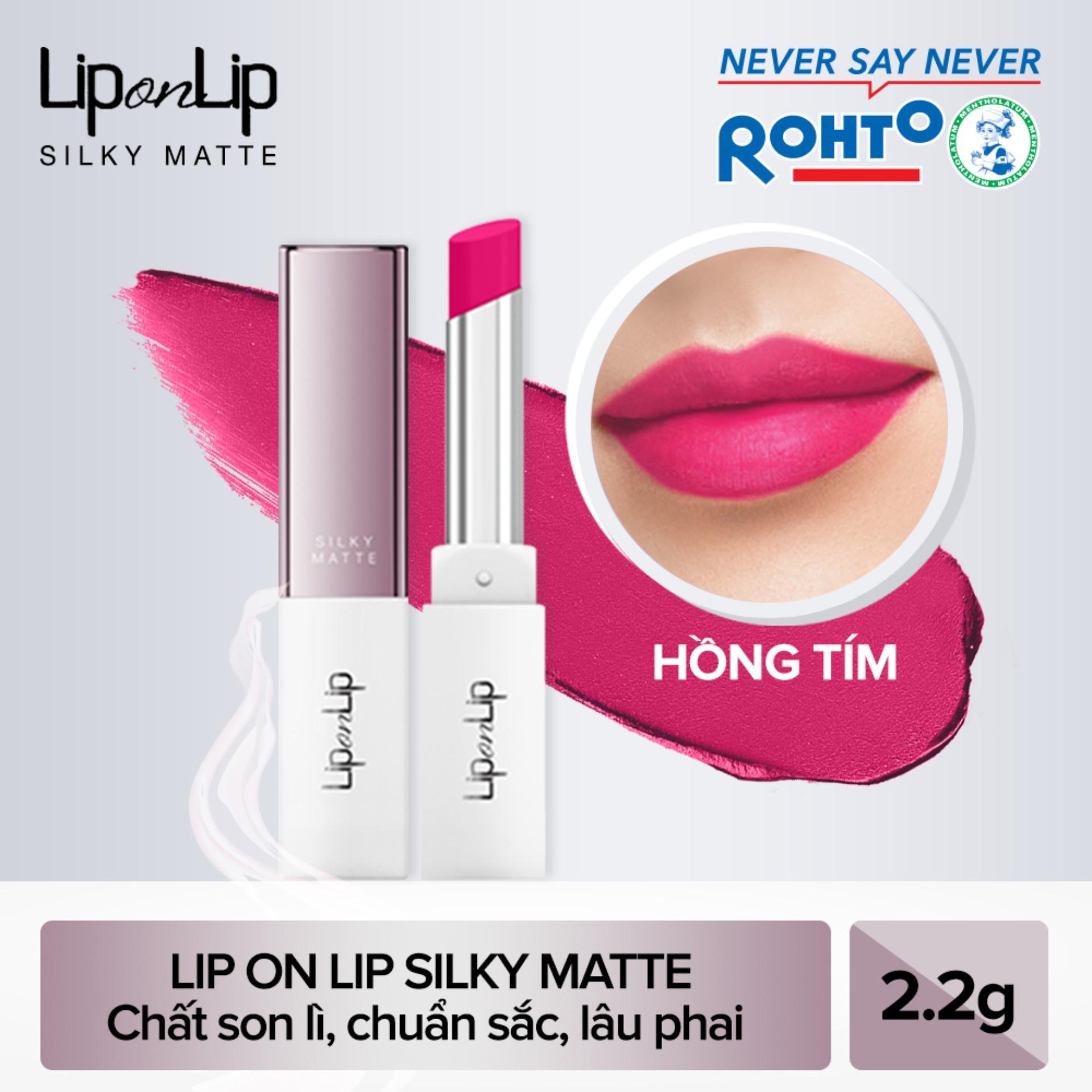 Son lì siêu mịn dưỡng tối ưu Lip On Lip Silky Matte 2,2g