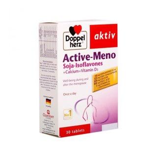 Viên uống Doppelherz Aktiv ACTIVE-MENO (hộp 30 viên) Thực phẩm chức năng hỗ trợ TĂNG CƯỜNG SINH LÝ NỮ thumbnail