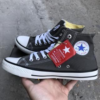 Giày Converse Classic Màu Xám Ghi Cao Cổ (Thanh Lý) thumbnail