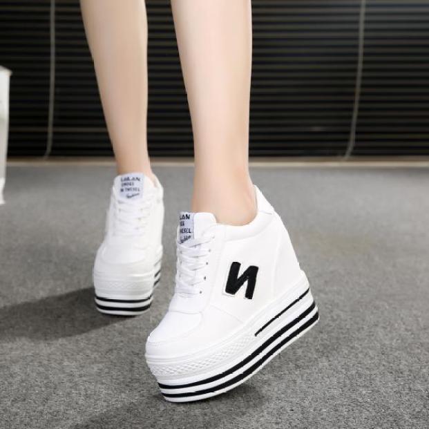 Giày bánh mì nữ đế độn nhiều màu cá tính phong cách Hàn Quốc BM083 giá rẻ