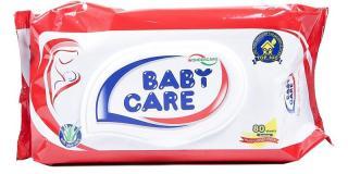 Combo 5 Khăn giấy ướt Babycare hương phấn 80 miếng thumbnail