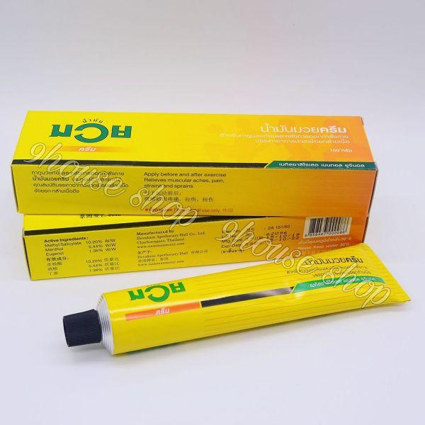 Kem Xoa Bóp MUAY Thái Lan 100gram nhập khẩu
