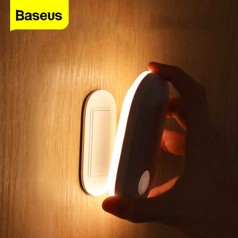 [HÀNG CHÍNH HÃNG] Đèn Cảm Ứng Chuyển Động Thông Minh Baseus Sunshine Series (Entrance Edition,Human body Induction/PIR Intelligent Motion Sensor LED Nightlight)