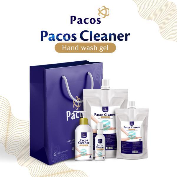 Nước rửa tay PACOS CLEANER dưỡng ẩm da tay bảo vệ gia đình khỏi vi khuẩn