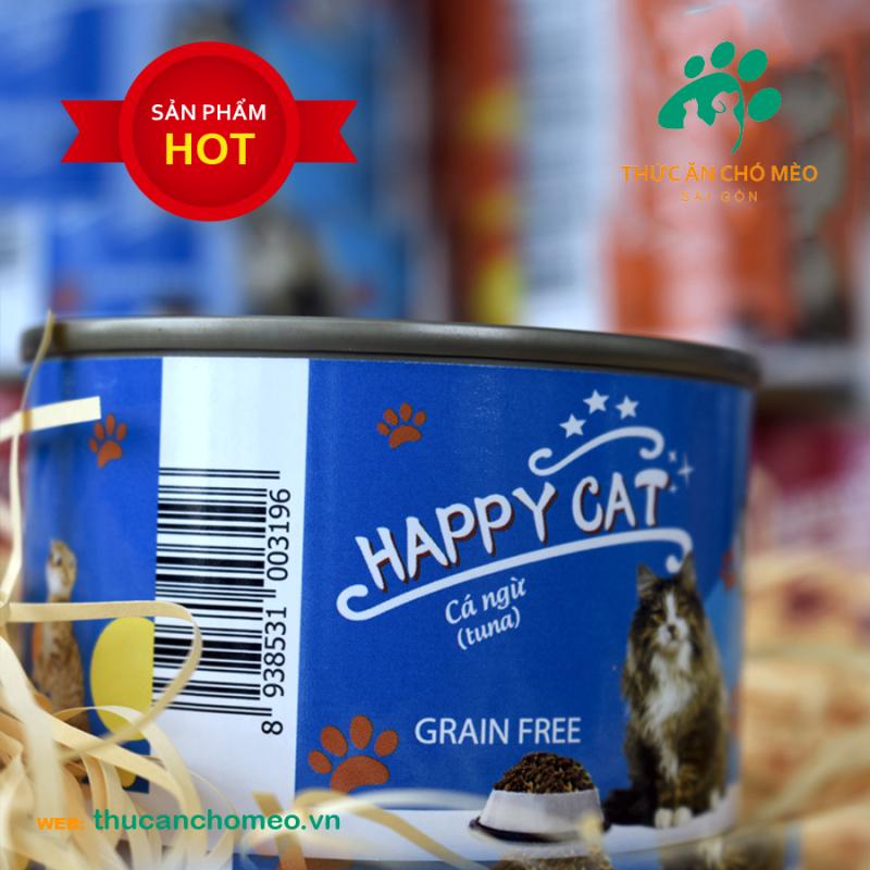 Pate Happy Cat Vị Cá Ngừ – 160g
