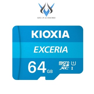 [HCM]Thẻ nhớ MicroSDXC Kioxia Exceria 64GB UHS-I U1 100MB s (Xanh) - Formerly Toshiba Memory - Phụ Kiện 1986 thumbnail