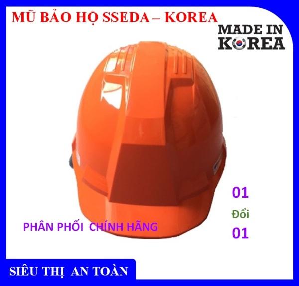 Mũ bảo hộ lao động,mũ bảo hiểm,nón bảo hiểm SSEDA IV Hàn Quốc ,bảo vệ đầu,chống vật rơi , chống điện,chống lửa - An toàn chất lượng