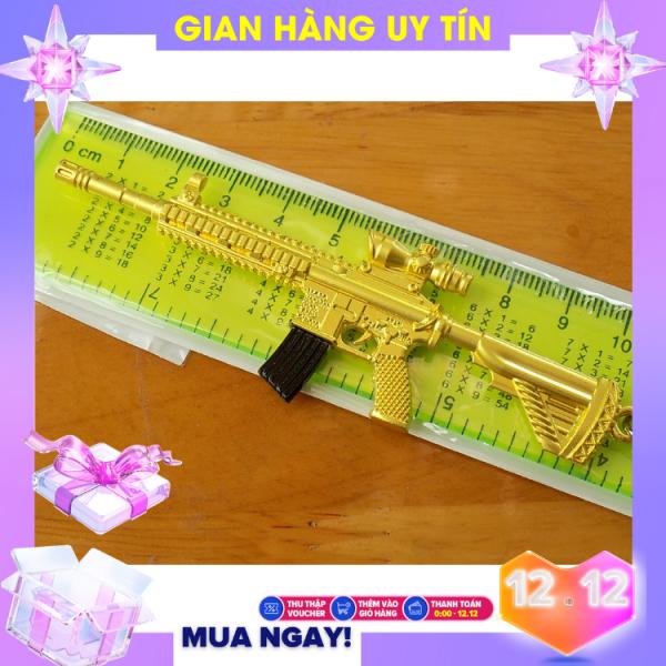Mô hình game PUBG - M416 nhiều skin - dùng làm móc khóa hoặc trưng bày pupg