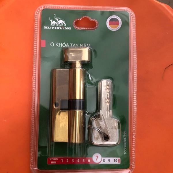 Lõi khóa Huy Hoàng thay thế - Ổ khóa tay nắm - Củ chìa Huy Hoàng thay thế
