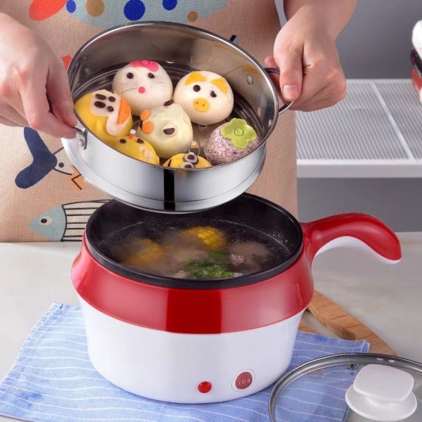 Ca nấu mỳ có vỉ hấp Azuka  màu ngẫu nhiên