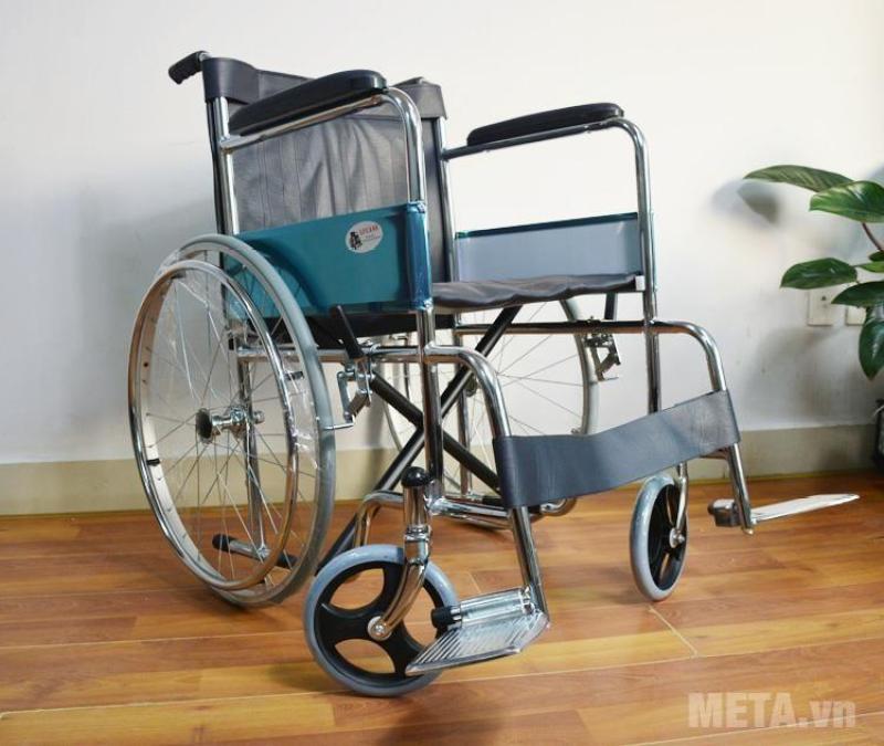 Xe lăn cao cấp LUCASS X9 - Xe lăn dành cho người già, người khuyết tật - Cam kết HÀNG CHÍNH HÃNG