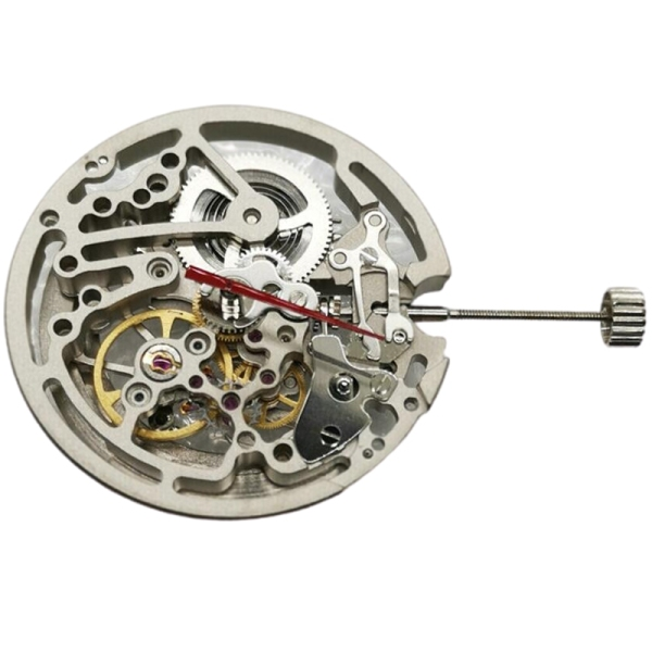 Hollow Mechanical Automatic Skeleton Watch Movement Replacement for TY2809 Watch Repair Tool Parts Watchmakers Tools