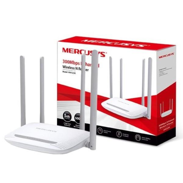 Bộ Phát Wifi 4 Râu Mercusys MW325R 300Mbps Cực Khỏe cực căng cực trâu