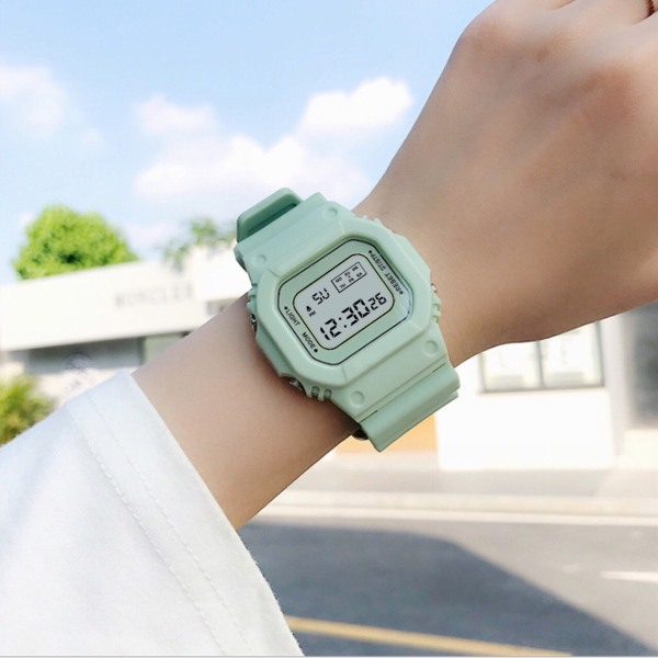 Nơi bán Đồng hồ điện tử nam nữ Sppors khung 6 số MS1312 BL79