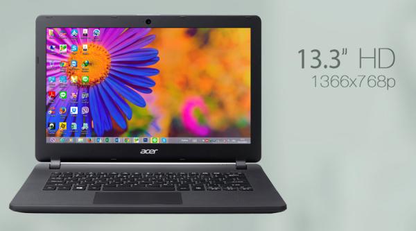 Bảng giá Laptop mỏng và nhẹ dùng văn phòng, học tập, Acer ES1-311 - CPU Quad-Core, Màn hình 13.3inch, ram 4GB, ổ 500GB, trọng lượng chỉ 1,6kg Phong Vũ