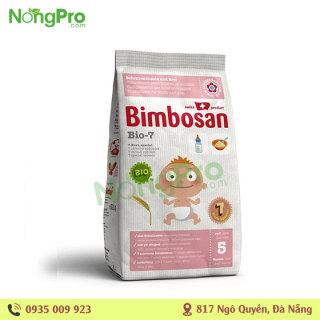 Sữa Bột Ăn Dặm Hữu Cơ Thụy Sỹ Bimbosan M5+ 300g thumbnail