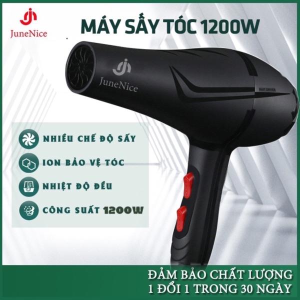 Máy Sấy Tóc với sức gió 1200 với 3 nút điều chỉnh cho 4 chế độ sấy phù hợp với mọi loại tóc tặng kèm đầu sấy dẹp 1 Đổi 1 Trong 20 Ngày