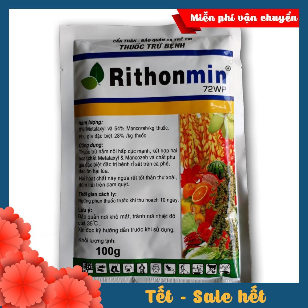 Thuốc trị bệnh rỉ sắt trên cà phê Rithonmin 72WP 100g