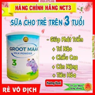 - Sữa Bột Cho T Trên 3 Tuổi GROOT MAAK HƯƠNG VANI (900g) [ Sản phẩm công ty NCT3 ] thumbnail