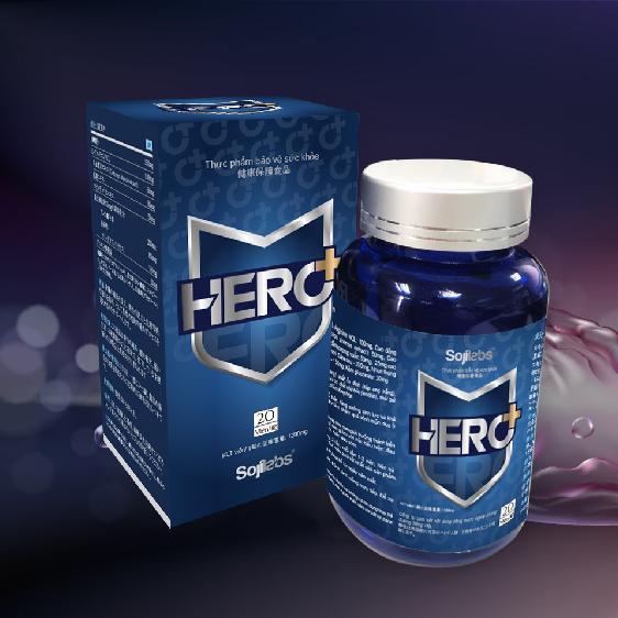 Sản phẩm tăng cường sinh lý nam Hero Plus (Hero +) nhập khẩu
