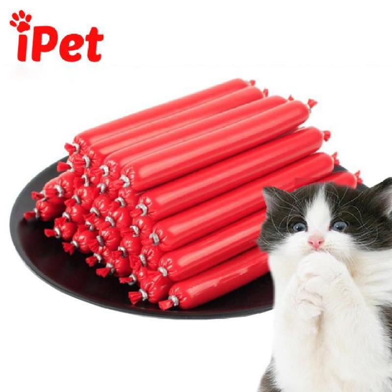 2 Cây Xúc Xích Dinh Cho Chó Mèo, Xúc Xích Bioline Giàu Vitamin Cho Thú Cưng - iPet Shop