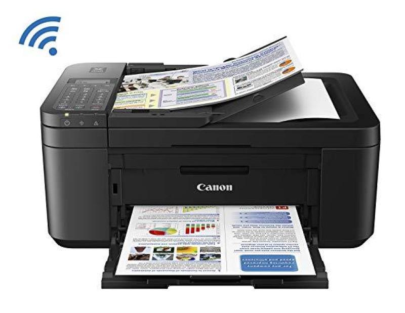 Canon TR4527 , Máy in màu đa năng , Wifi, Scan , Photocopy, in 2 mặt tự động