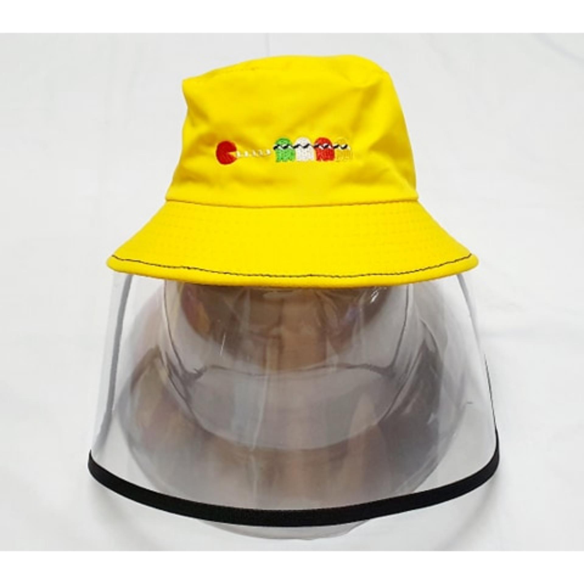 Giá bán Mũ có màn nhựa vi sinh trong chống gió bụi (đường kính nón 8cm)
