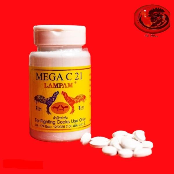 MEGA C21 - Nở cơ, tăng bo, bồi bổ gân cốt cho gà 100 VIÊN