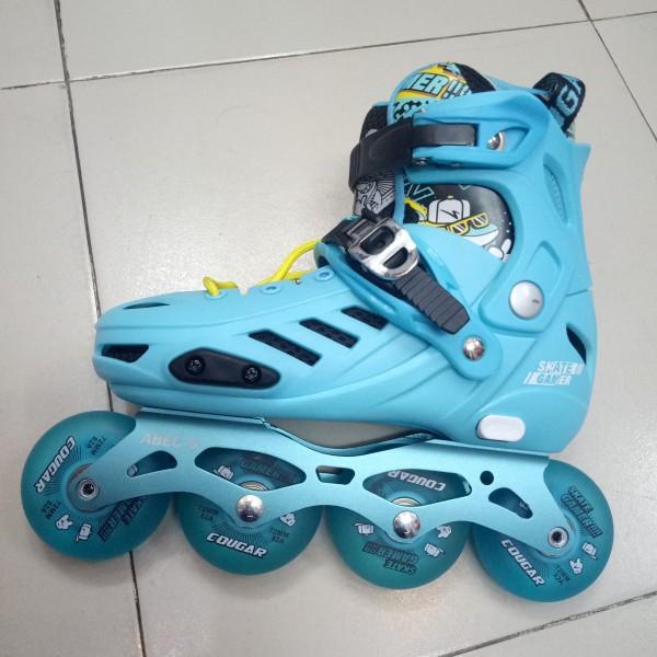 Phân phối [SIÊU PHẨM] Giày trượt patin trẻ em Cougar MZS 313 có 4 bánh phát sáng + boot tháo rời+ có thể điều chỉnh size