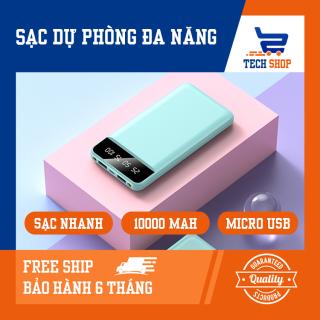 [Free Ship]Sạc dự phòng tích hợp màn hình Led Dung Lượng 10000MAH P398 thumbnail