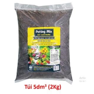 Đất sạch trồng rau và hoa 5dm3 ( khoản hơn 2kg ) giá rẻ thumbnail