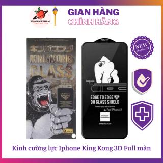 Kính cường lực Iphone King Kong 3D Full màn chính hãng siêu cứng thumbnail