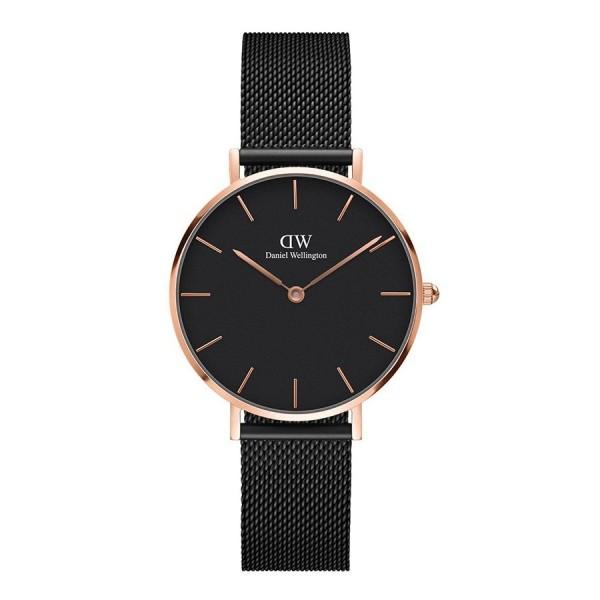 Nơi bán [ MUA 1 TẶNG 1 ] Đồng hồ nữ cao cấp đồng hồ nữ danlei wellingt0n classic petite ashfield DW00100201-quartz(pin)-dây lưới-32mm-full box, Đồng hồ nữ chống nước, đồng hồ nữ sang trọng