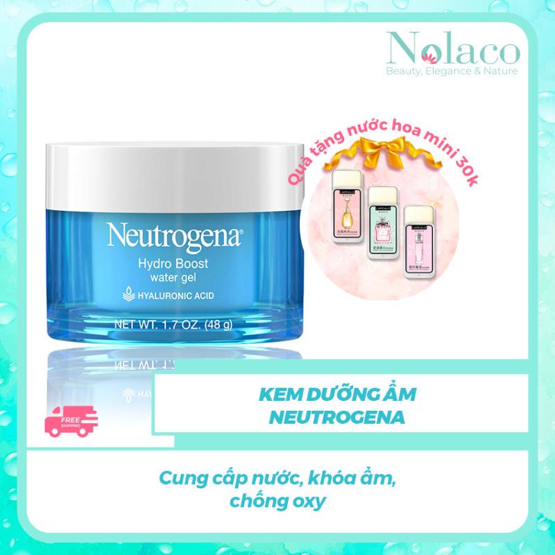 Kem dưỡng ẩm Neutrogena + Tặng kèm nước hoa khô mini 30k + Cung cấp nước, khóa ẩm, chống oxy + NOLACO giá rẻ