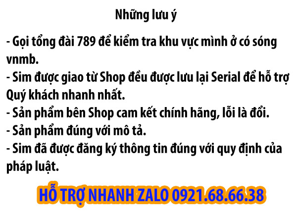 Combo 20 Phôi Sim Trắng 4G Vietnamobile - Dùng Để Đấu Nối Kho Sim Số Của Vietnamobile