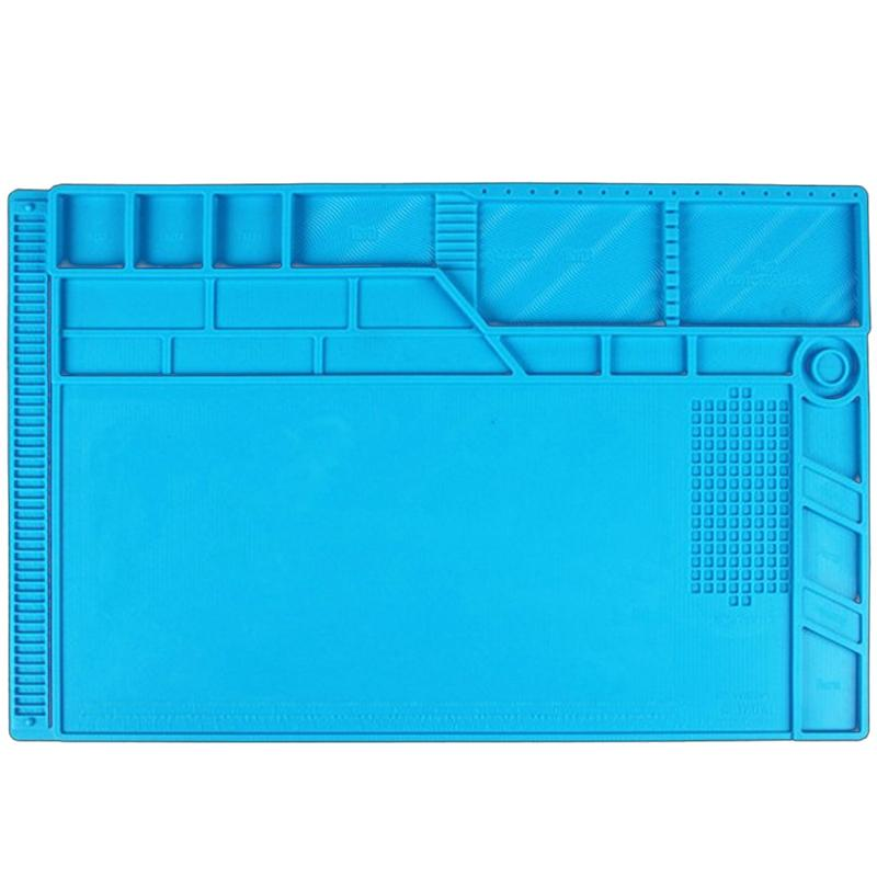 S-180 A1 ESD Heat Insulation Working Mat Heat-Resistant Soldering Hand Repair Tools Insulator Pad Maintenance Platform