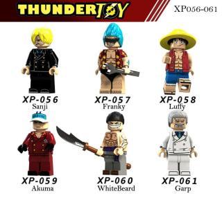 Đồ chơi lắp ráp Mini Figure nhân vật One Piece team luffy thumbnail